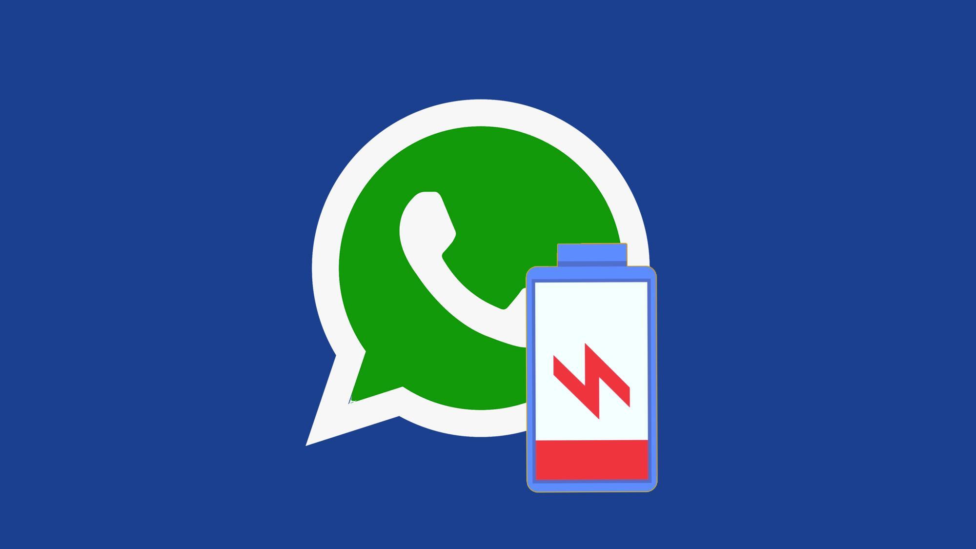 WhatsApp разряжает батарею Смартфона