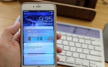 Как отключить экран с виджетами в iOS 10