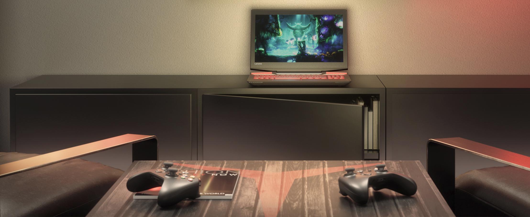 Открыт предзаказ на новый игровой ноутбук Lenovo Legion Y720