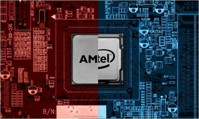 Intel собирается производить процессоры с графикой и памятью AMD