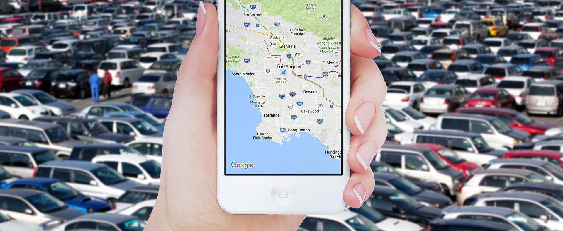 Как на вашем телефоне быстро найти оставленную машину, мотоцикл или велосипед?