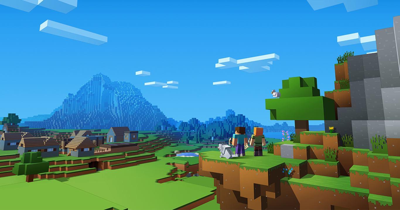 Геймер создает в Minecraft удивительные фигуры