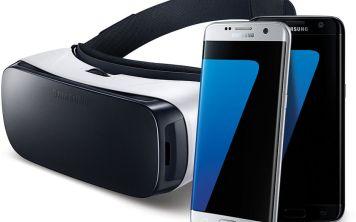 При покупке смартфона Samsung Galaxy S7 или Samsung Galaxy S7 edge очки Gear VR в подарок!