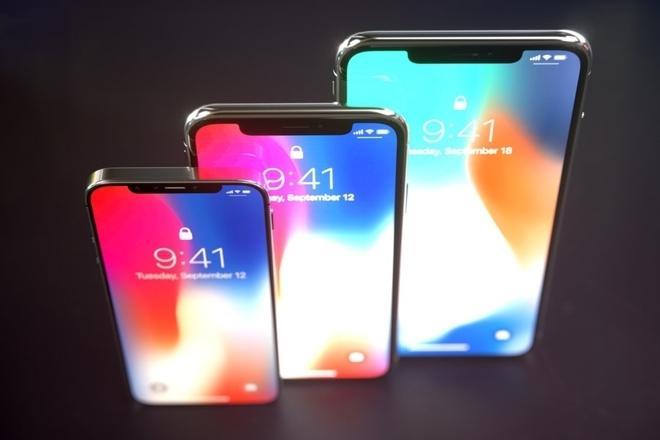 Утечки  iPhone X + и XS