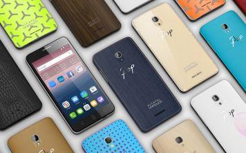 Компания Alcatel представила смартфоны среднего уровня