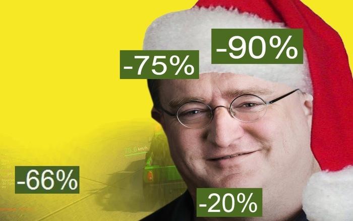 Полный гид по Новогодней распродаже Steam