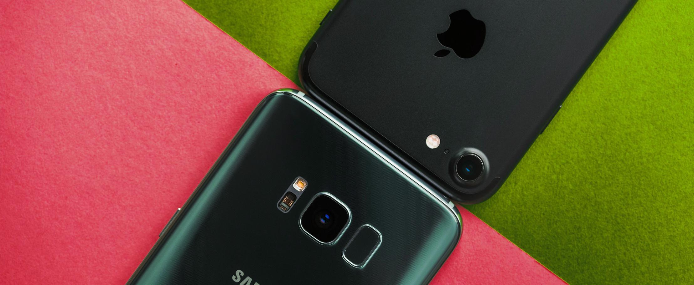 5 причин почему Samsung Galaxy S8 лучше iPhone 7