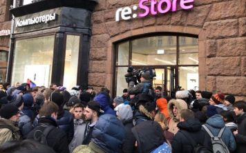 iPhone X в России  - количество купленных в кредит