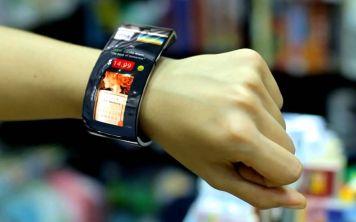 Samsung патентует браслет с гибким экраном