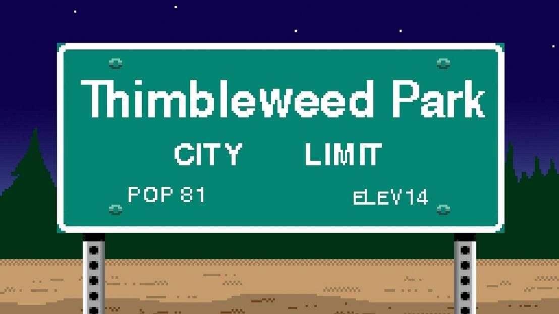 Thimbleweed Park: эстетика и сюжет