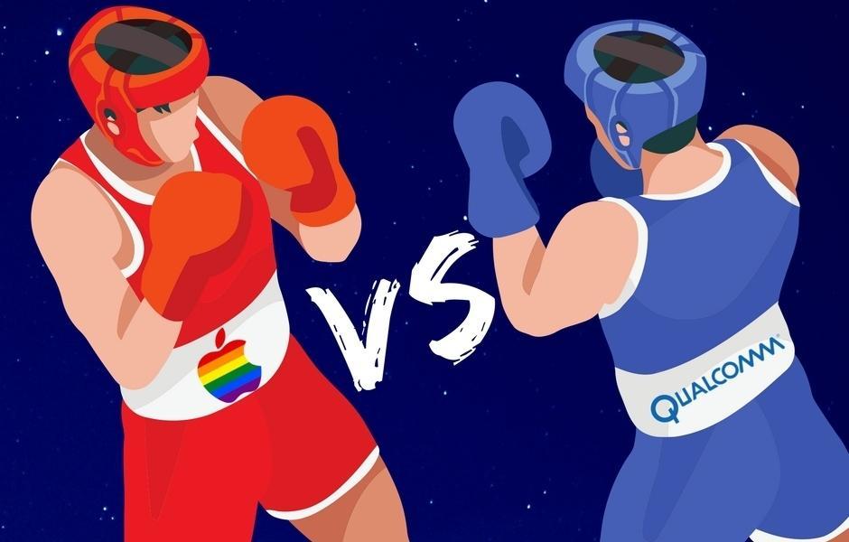 Apple украла запатентованные разработки Qualcomm