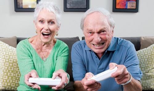 Компьютерные игры полезны в пожилом возрасте