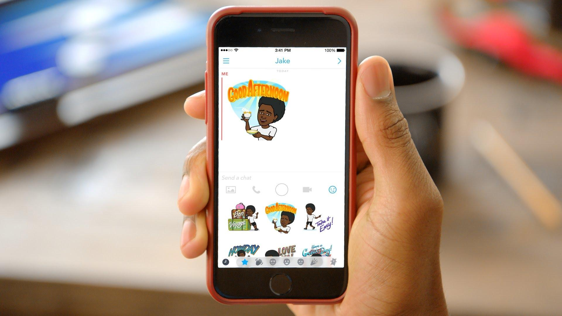 Snapchat добавит 3D Bitmoji в свои World Lens