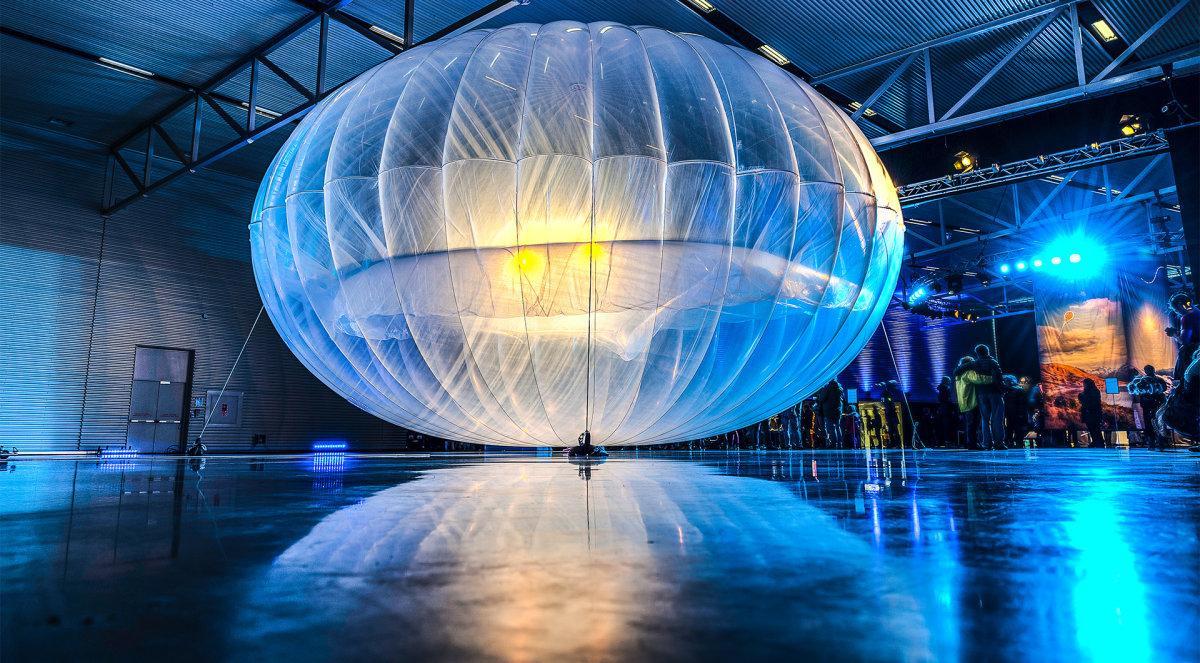 Доставка интернета на воздушных шарах
