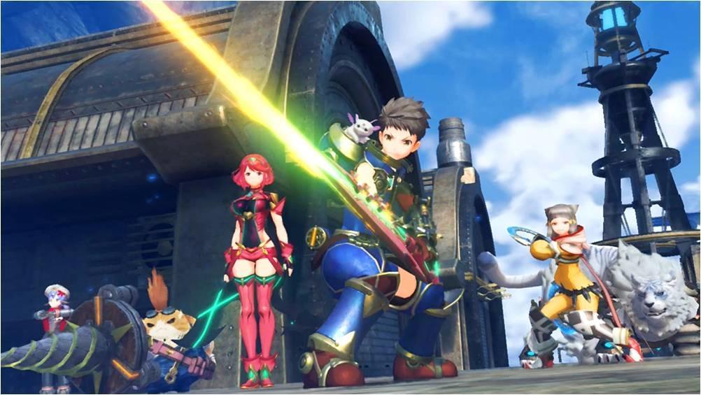 Публика увидела трейлер Xenoblade Chronicles 2 от Nintendo