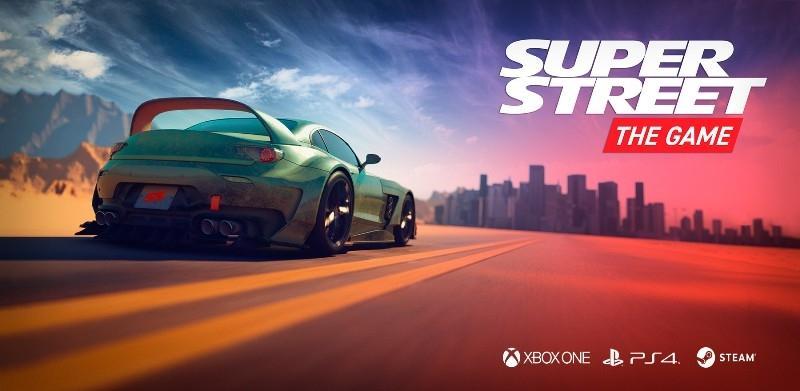 Вышел анонс аркадной гоночной игры Super Street
