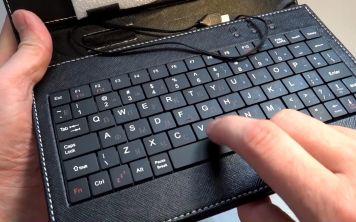Надежна ли клавиатура для планшета в чехле