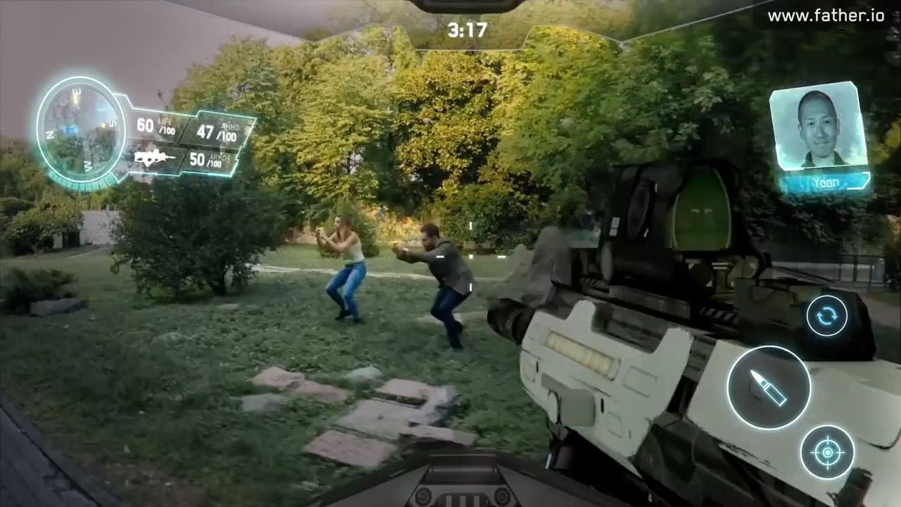 Father.IO: смартфон превратится в автомат, а ты в бойца спецназа