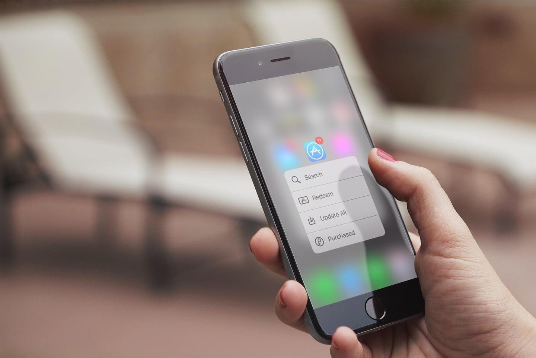 Apple тестируют продвинутую технологию 3D Touch