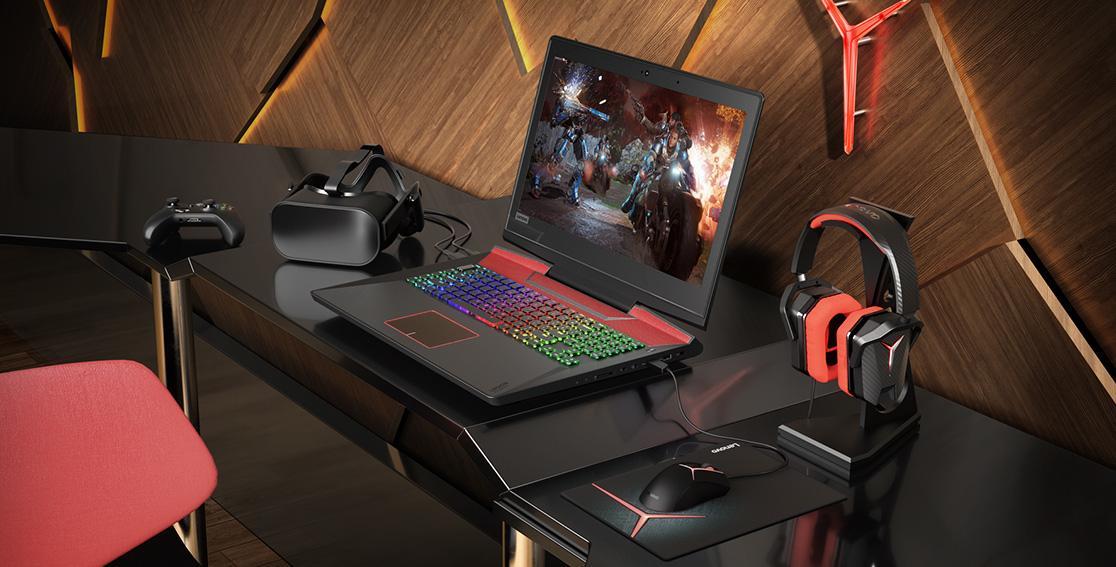 Новый игровой ноутбукот Lenovo