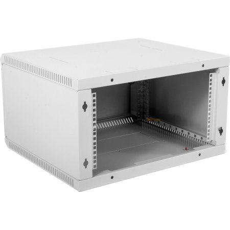 ЦМО Шкаф телекоммуникационный настенный разборный 6U (600х350) дверь металл, [ ШРН-Э-6.350.1 ]