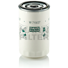 Фильтр автомобильный масляный MANN-FILTER W 719/27