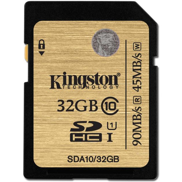Kingston SDHC UHS-I Ultimate 32Гб