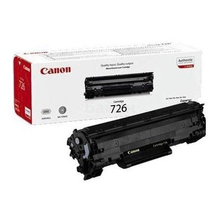 Canon-726 Картридж лазерный, Черный, Стандартная, нет