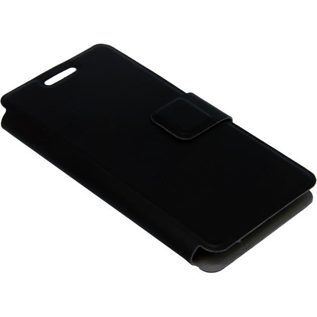 Чехол-книжка Micromax D333 Черный