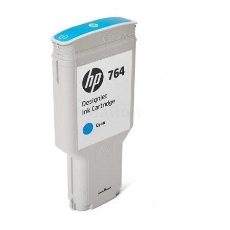 HP Inc. Cartridge HP 764 голубой для HP DJ T3500 300-ml