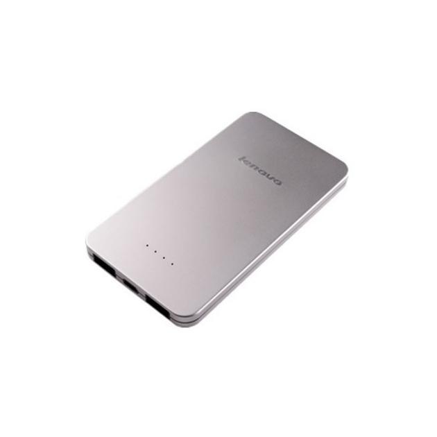 Lenovo PowerBank PB410 Серебристый, 5000мАч