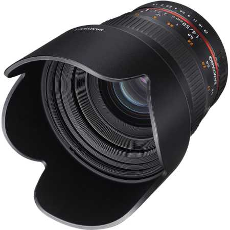 Samyang MF 50mm f/1.4 AS UMC Canon EF