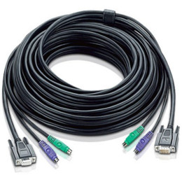 ATEN CABLE HD15M/MD6M/MD6M--HD15F/M; 3M/