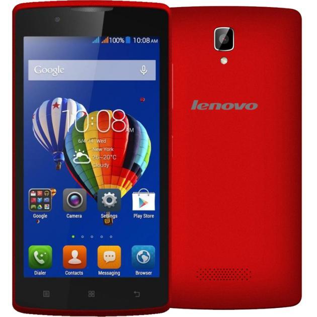Lenovo A2010 Красный