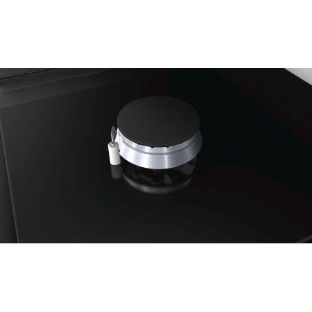 Bosch PPH616B21E Черный, Газовая, Закалённое стекло