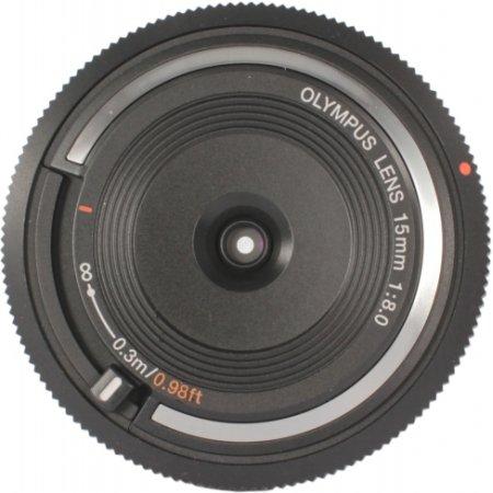 Olympus 15mm f/8.0 Body Cap Lens Широкоугольный, Micro 4/3