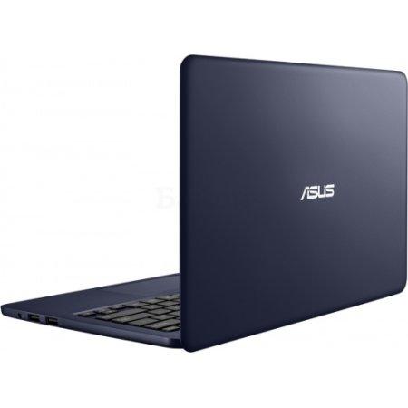 "ASUS EeeBook E202 11.6"", Intel Pentium, 1330МГц, 2Гб RAM, 500Гб, Темно-синий, Wi-Fi, Windows 10, Bluetooth"