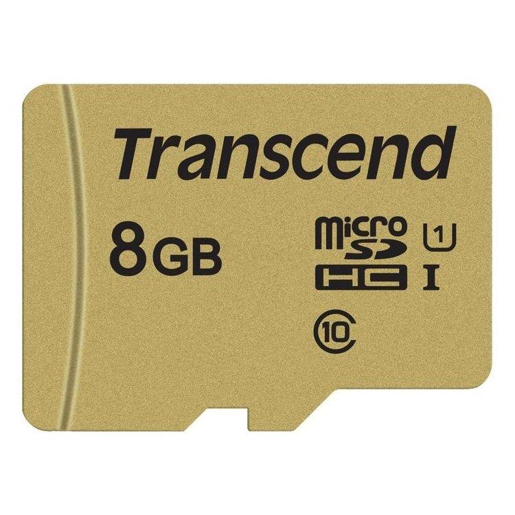 Карта памяти Transcend 8Gb Class 10