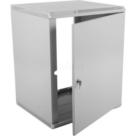 ЦМО Шкаф телекоммуникационный настенный разборный 12U (600х350) дверь металл, [ ШРН-Э-12.350.1 ]