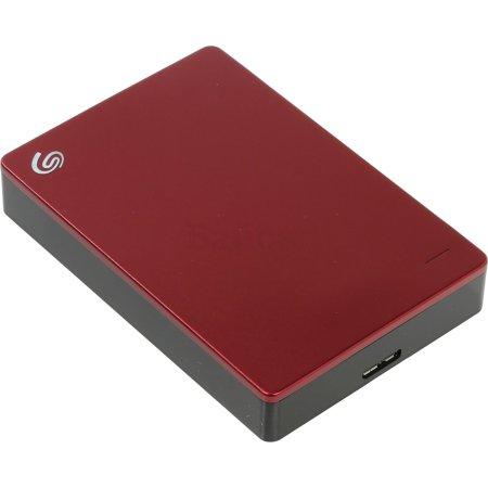 Seagate Backup Plus Portable STDR1000201 4TB 4000, Красный