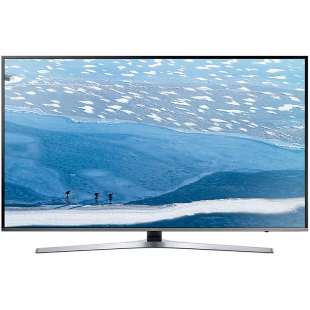 "Samsung UE40KU6470 40"", Серебристый, 3840x2160, Wi-Fi, Вход HDMI"