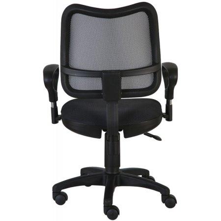 Кресло Бюрократ CH-799AXSN/TW-11 спинка сетка черный сиденье черный TW-11