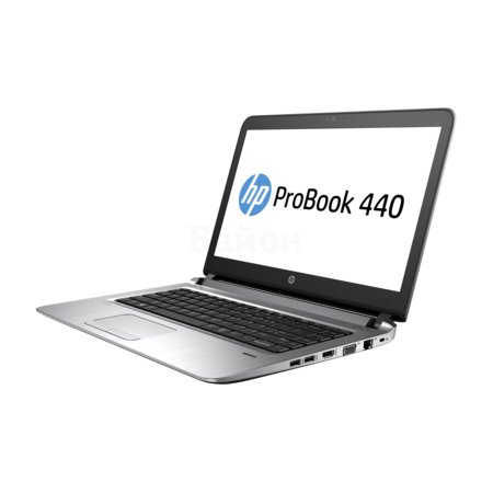 "HP ProBook 440 G3 W4P01EA 14"", Intel Core i3, 2300МГц, 4Гб RAM, DVD нет, 500Гб, Черный, Wi-Fi, DOS, Bluetooth"