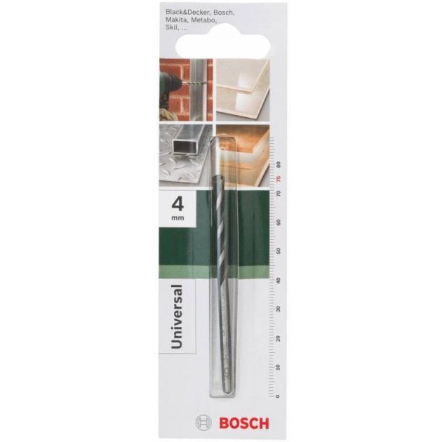 Сверло универсальное Bosch 2609255471 Д=4мм