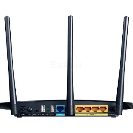 TP-Link Archer C7 AC1750 Черный, 1750Мбит/с, 5, 2.4