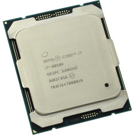 Intel Core i7-6850K 6 ядер, 3600МГц, BOX