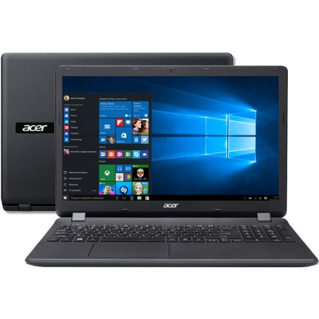 "Acer Aspire ES1-571-358Z 15.6"", Intel Core i3, 2000МГц, 4Гб RAM, DVD нет, 500Гб, Черный, Wi-Fi, Windows 10, Bluetooth"