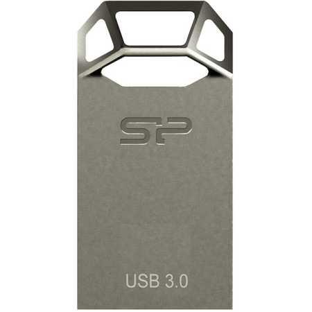 Silicon Power Jewel J50 32Gb 32Гб, Серый, металл, USB 3.0