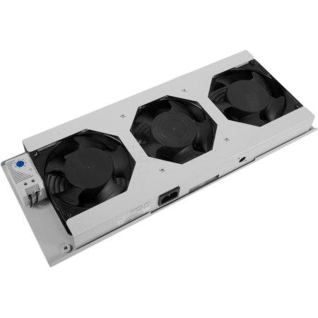 ЦМО Модуль вентиляторный потолочный (170x425), 3 вентилятора с терморегулятором