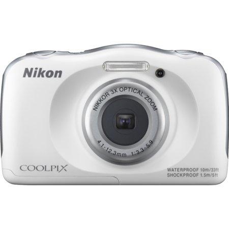 Nikon Coolpix S33 Белый